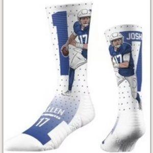 NFL Buffalo Bills Strideline Socks Josh Allen M/L